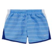 Nike® 10K Allover Print Running Shorts - Girls 7-16