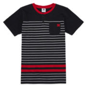 DC Shoes Co.® Short-Sleeve Striped Henley Tee - Boys 8-20