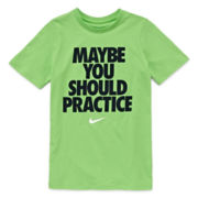 Nike® Short-Sleeve Cotton Graphic Tee - Boys 8-20