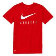 Nike® Swoosh Short-Sleeve Graphic Tee - Boys 8-20
