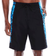 Nike® Flux Camo Splice Swim Trunks