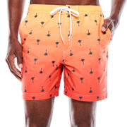 Dockers® Palm Sunset Swim Trunks