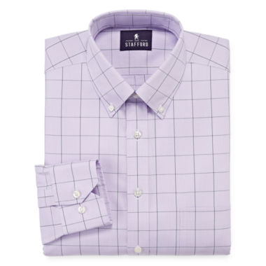 jcpenney.com | Stafford® Executive Non-Iron Cotton Pinpoint Dress Shirt - Big & Tall