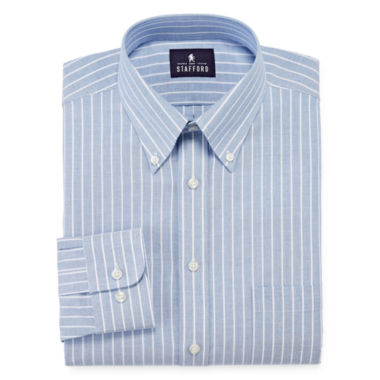 jcpenney.com | Stafford® Travel Wrinkle-Free Oxford Dress Shirt