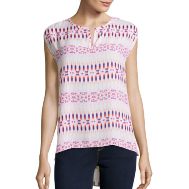 jcpenney.com | Stylus™ Short-Sleeve Peasant Top