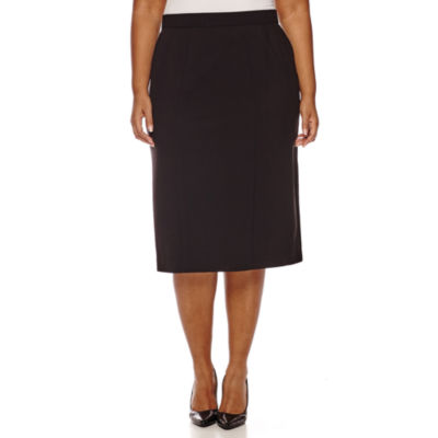 Worthington High Waist Pencil Skirt   Plus by Worthington