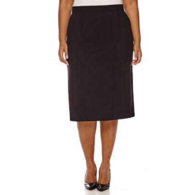 jcpenney.com | Worthington® High-Waist Pencil Skirt - Plus