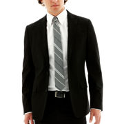 JF J. Ferrar® Slim-Fit Black Sport Coat