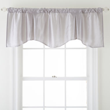 jcpenney.com | Royal Velvet® Encore Rod-Pocket Scalloped Valance