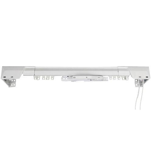 Rod Desyne Heavy-Duty Center Open Traverse Adjustable Curtain Rod