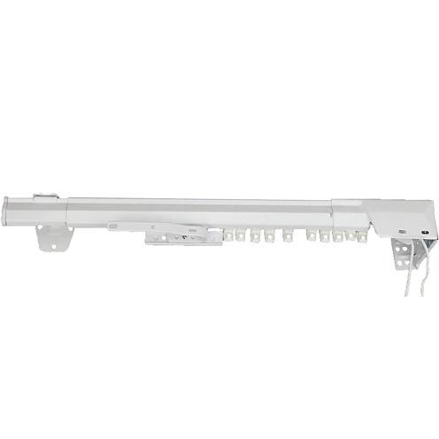 Rod Desyne One-Way Cord Traverse Adjustable Curtain Rod - Right