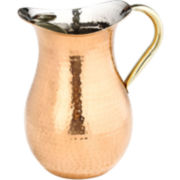 Old Dutch International® Décor Hammered Copper Water Pitcher