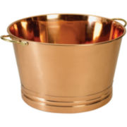 Old Dutch International® Décor Copper Party Tub