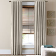 jcp home™ Supreme Thermal Rod-Pocket/Back-Tab Curtain Panel