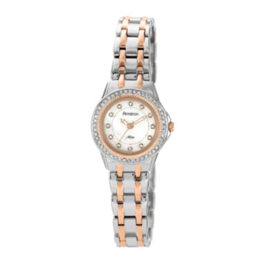 jcpenney.com | Armitron® Now® Womens Crystal-Accent Two-Tone Stainless Steel Watch