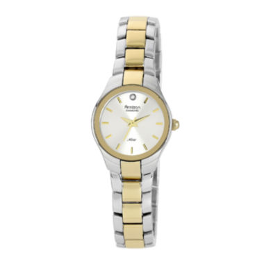 jcpenney.com | Armitron® Now Womens Two-Tone Stainless Steel Diamond Accent Watch