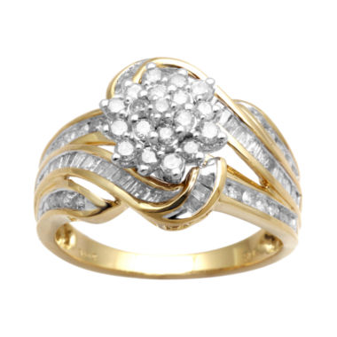 jcpenney.com | 1 CT. T.W. Diamond Cluster Ring