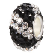 Forever Moments™ Pavé White and Black Crystal Bead
