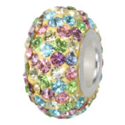 Forever Moments™ Pavé Multicolor Crystal Charm Bracelet Bead