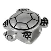 Forever Moments™ Oxidized Turtle Charm Bracelet Bead