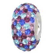 Forever Moments™ Pavé Blue & Purple Crystal Charm Bracelet Bead