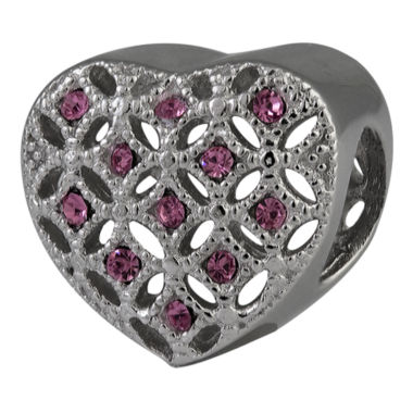 jcpenney.com | Forever Moments™ Filigree Heart Bead