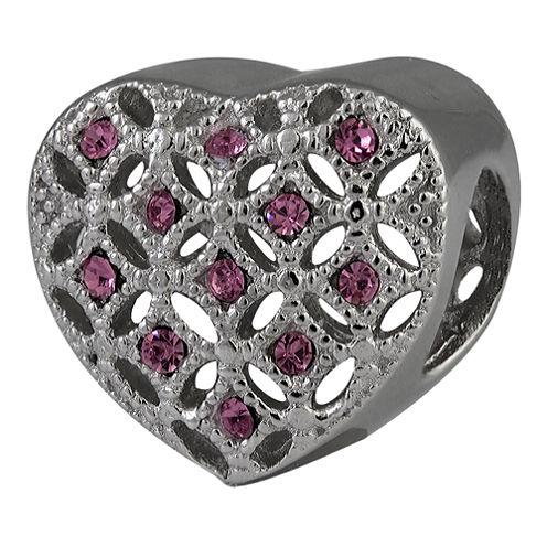 Forever Moments™ Filigree Heart Bead