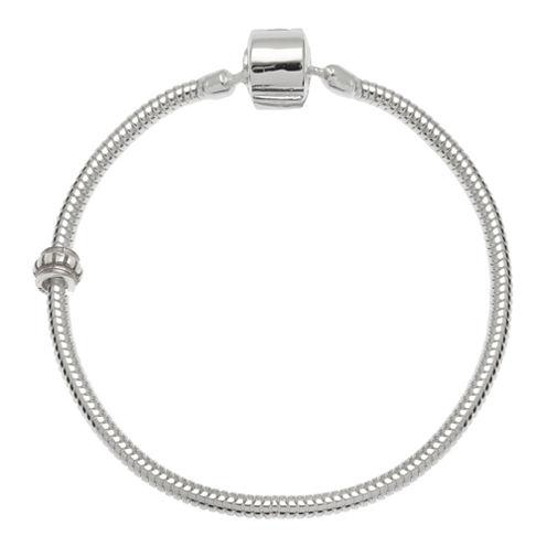 """Forever Moments™ 7.5"""" Snake Chain Bracelet"""