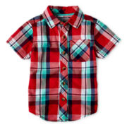 Arizona Short-Sleeve Woven Shirt - Boys 12m-6y