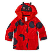 Carter's® Ladybug Rain Jacket – Girls 12m-24m