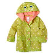 Carter's Frog Rain Jacket - Girls 2t-4t