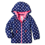 Carter's Polka Dot Jacket - Girls 2t-4t
