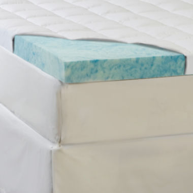 "jcpenney.com | Comforpedic from Beautyrest® 5½"" Supreme Gel Memory Foam and Fiber Topper"