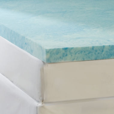 "jcpenney.com | Comforpedic from Beautyrest® 4"" Gel Memory Foam Flat Topper"
