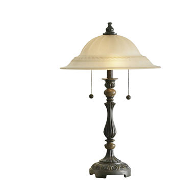 JCPenney Home Frosted Glass Table Lamp
