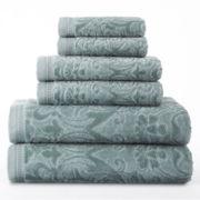 Royal Velvet® Sculpted 6-pc. Bath Towel Set