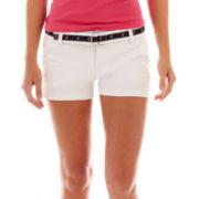 Wallflower Flamingo Belt Shorts