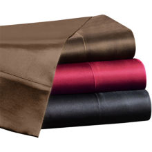 Premier Comfort Solid Satin Sheet Set