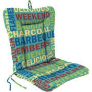 Euro-Style Knife-Edge Reversible Chair Cushion