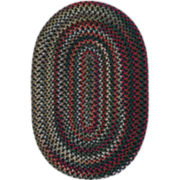 Chestnut Knoll Reversible Braided Round Rugs