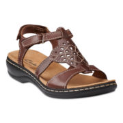 Clarks® Leisa Taffy Sandals