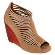 MIA girl Jamala Open-Toe Wedges