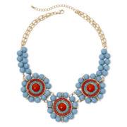 Mixit™ Aqua-Stone Bohemian Necklace