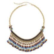 Mixit™ Seed Bead Fringe Necklace