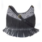 Arizona Sheena Fringe Crossbody Bag