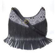 Arizona Sheena Fringe Crossbody Bag