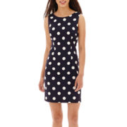 Alyx® Sleeveless Solid Sheath Dress - Petite