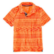 Arizona Printed Polo - Preschool Boys 4-7