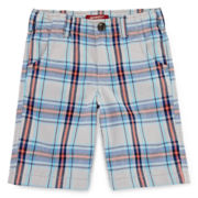 Arizona Plaid Chino Shorts - Boys 4-7