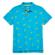 Arizona Tropical Print Polo, Tee or Tank Top - Boys 8-20
